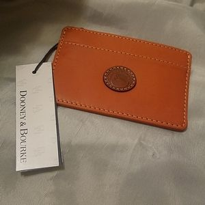 Dooney & Bourke credit card holder as is new